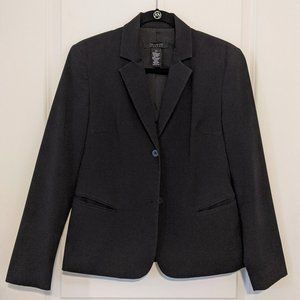 The Limited Two Button Blazer (Black) - Size XS